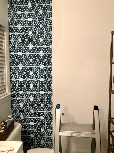 Mirth Studio Peel & Stick Starburst wallpaper