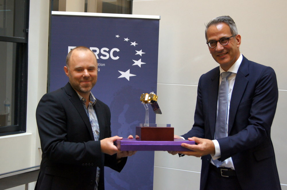 Waste from Space - Winner of the 207 European Association of Remote Sensing Companies (EASRC) Product of the Year Award.