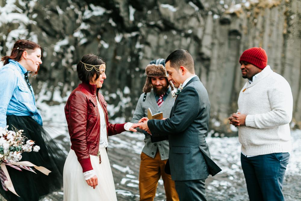 reynisfjara beach | iceland wedding photographer