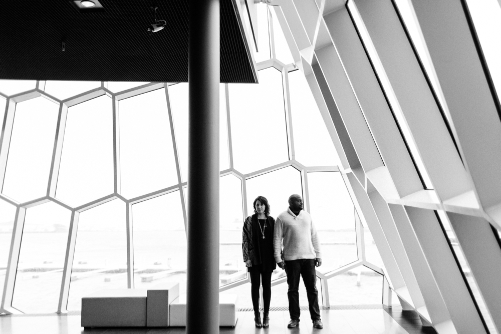 harpa concert hall | iceland portrait photographer