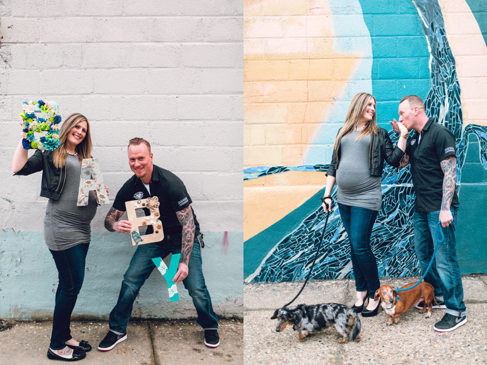 east kensington | philadelphia pregnancy announcement