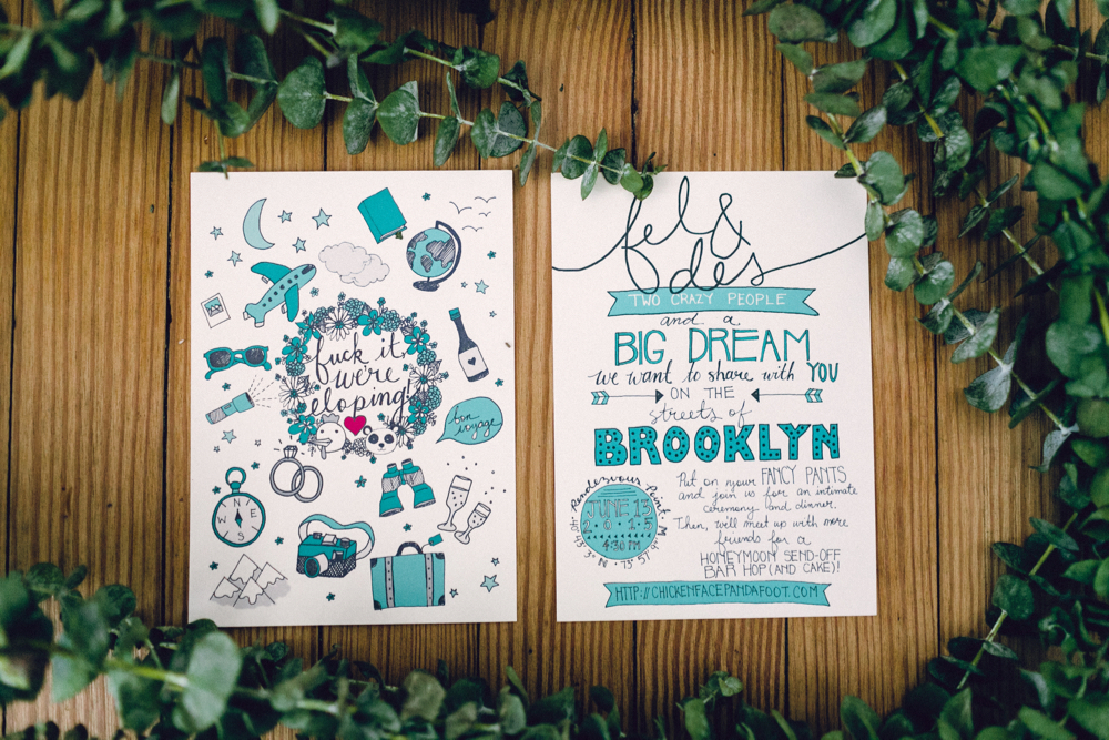 knitting factory | brooklyn wedding photographer