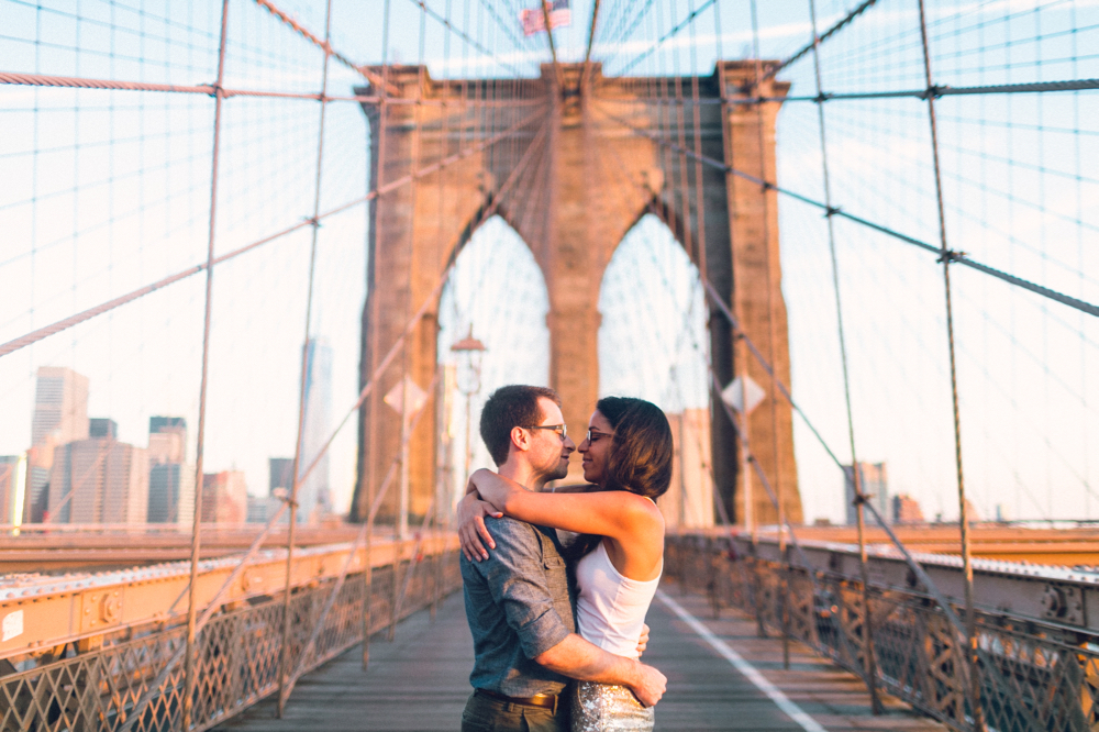brooklyn bridge | brooklyn wedding photographer
