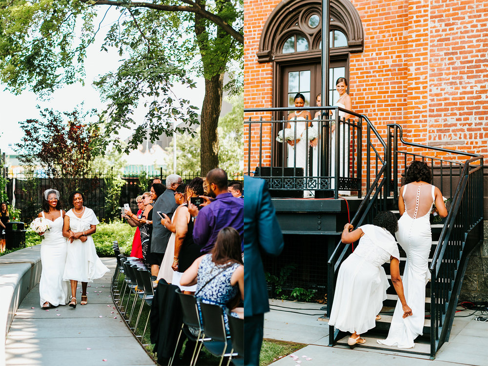 flushing town hall | new york wedding photographer