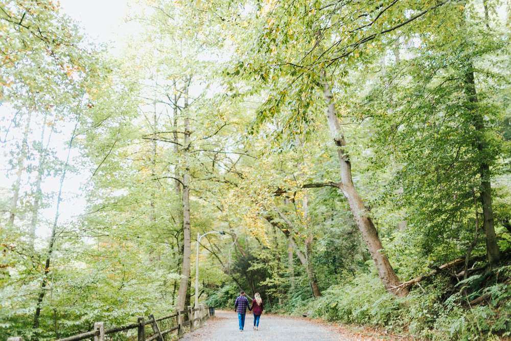 wissahickon valley park | philadelphia wedding photographer