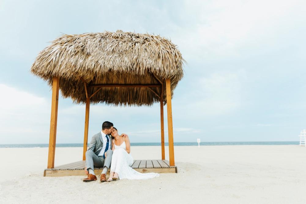surfrider beach club | new jersey wedding photographer
