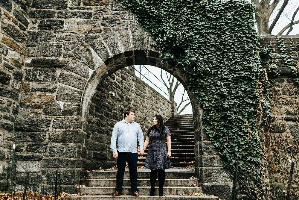 fort tryon   new york wedding photographer