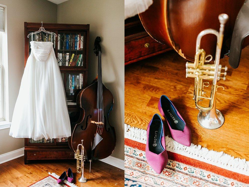 Summer wedding bride prep photos in Naval Square, Philadelphia by Danfredo Photos + Films