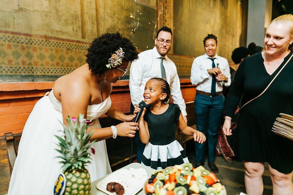 Summer wedding reception at Fleisher Art Memorial by Danfredo Photos + Films