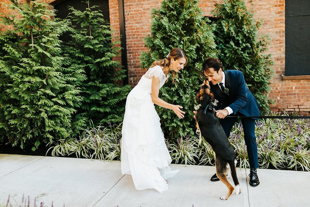 Summer wedding at the roundhouse by danfredo photos + films