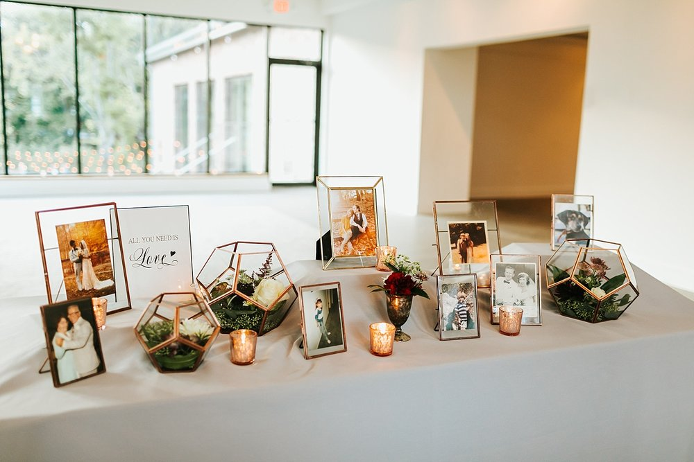 Wedding details at the roundhouse