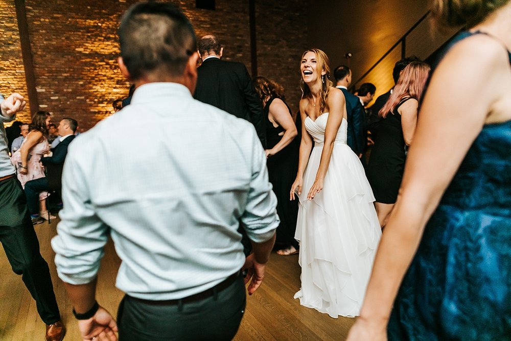 Summer wedding reception at upstate new york