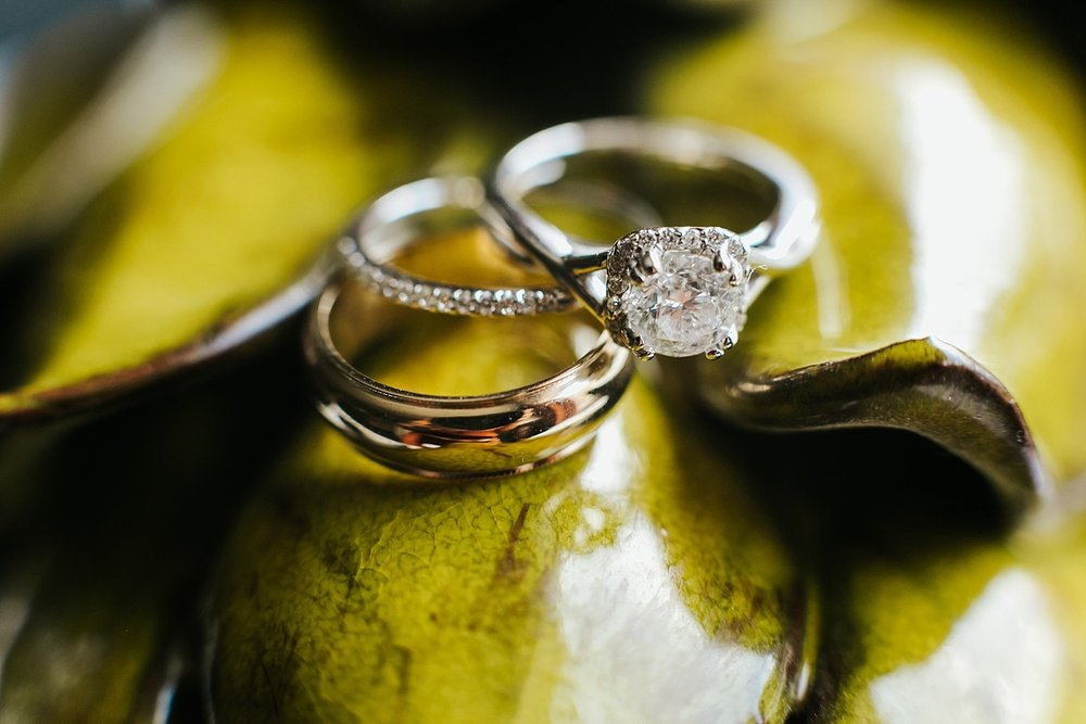 Wedding ring photo at the desmond by danfredo photos + films