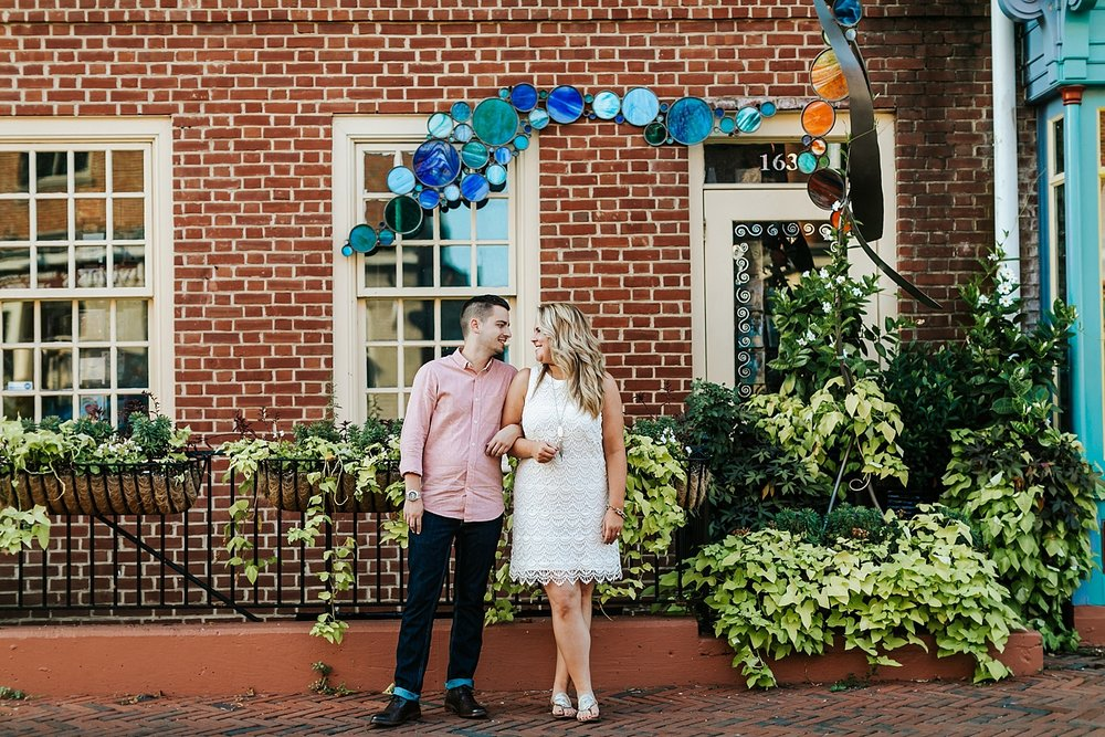 Fall baltimore engagement session by danfredo photos + films