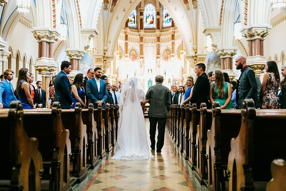 Fall wedding ceremony in philadelphia by danfredo photos + films