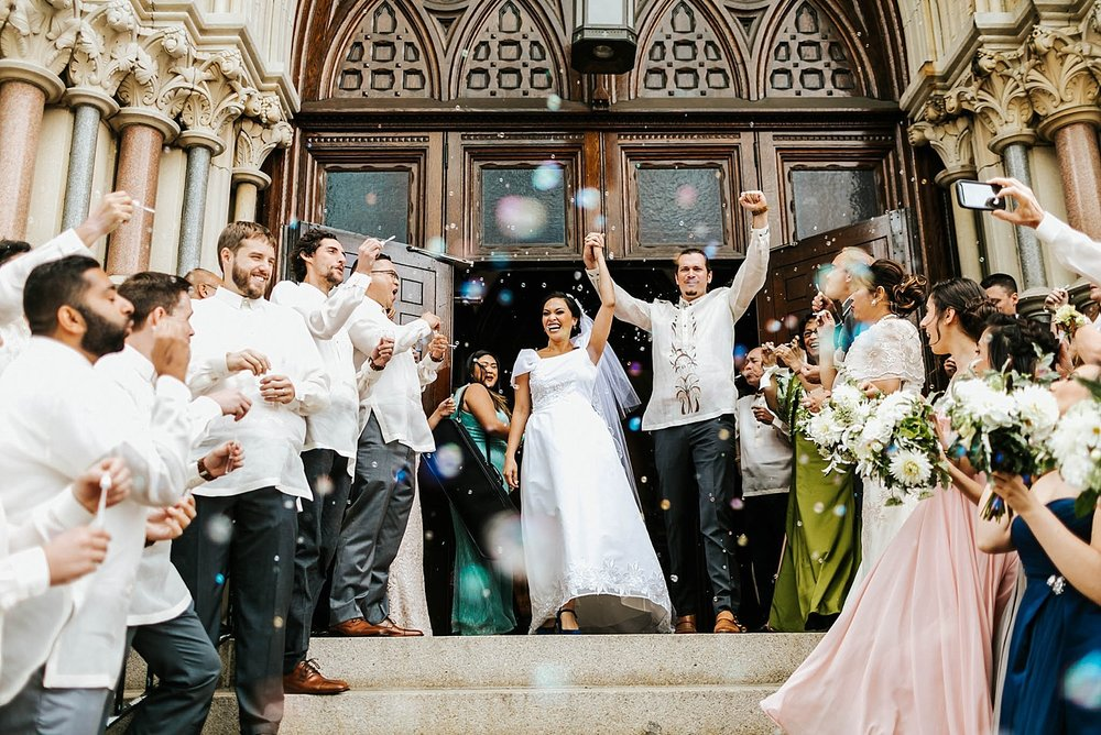 Filipino wedding ceremony in philadelphia by danfredo photos + films