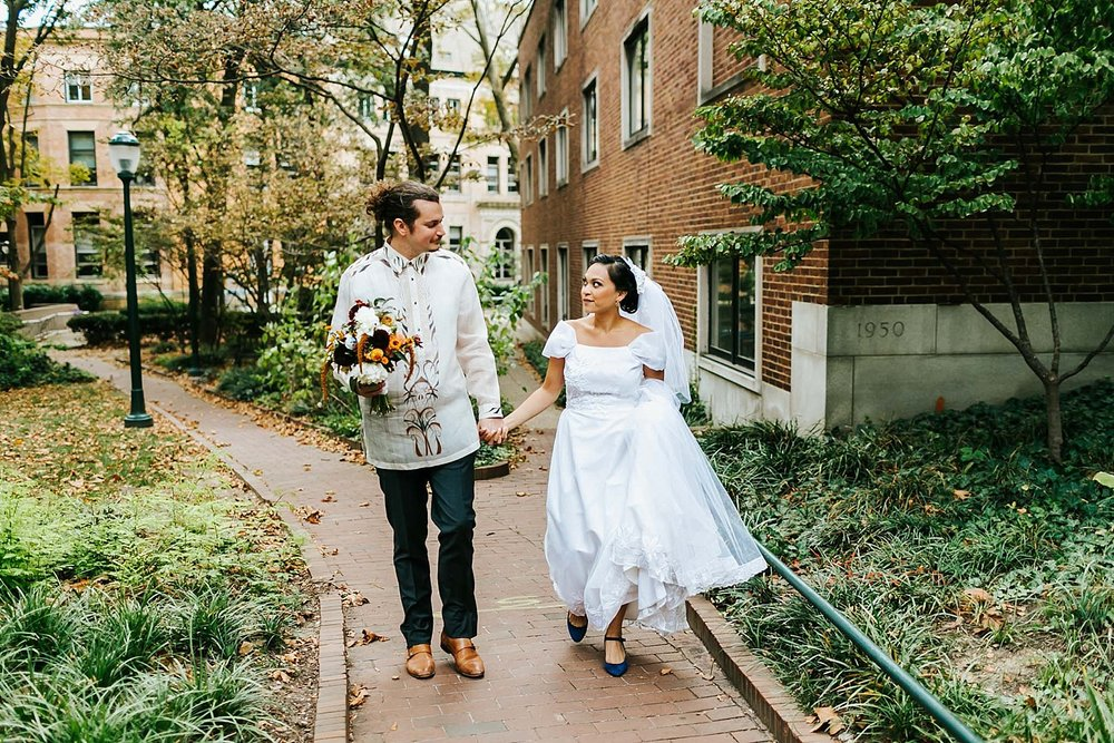 Fall wedding at inn at penn by danfredo photos + films