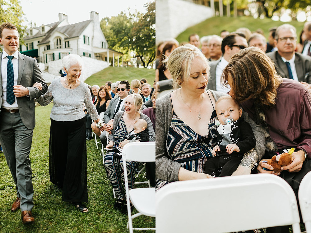 Fall wedding ceremony at philander chase knox by danfredo photos + films