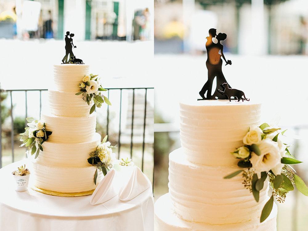 Fall wedding cake at philander chase knox by danfredo photos + films