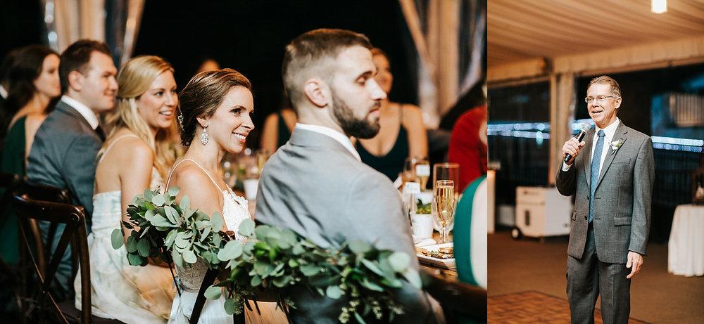 Fall wedding at philander chase knox