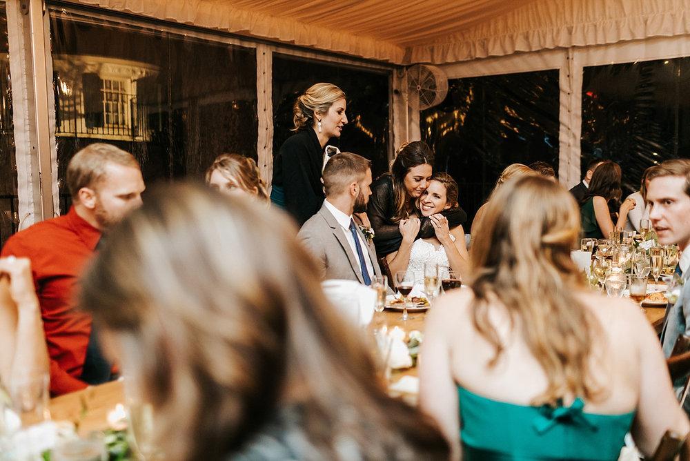 Fall wedding reception at philander chase knox by danfredo photos + films