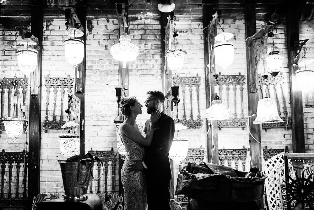 Fall wedding at material culture