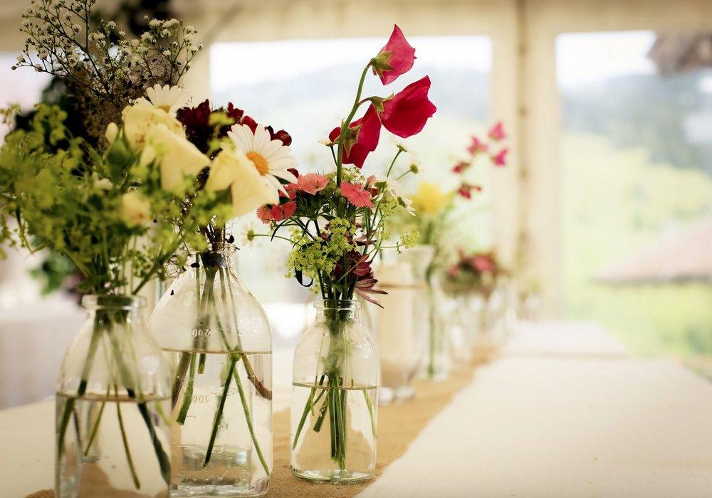 Hochzeiten und Events im Hüttendorf