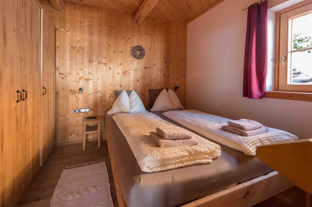 Schlafzimmer im Hochkönig Chalet