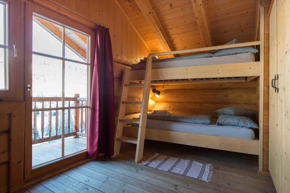 4er Zimmer mit Stockbett