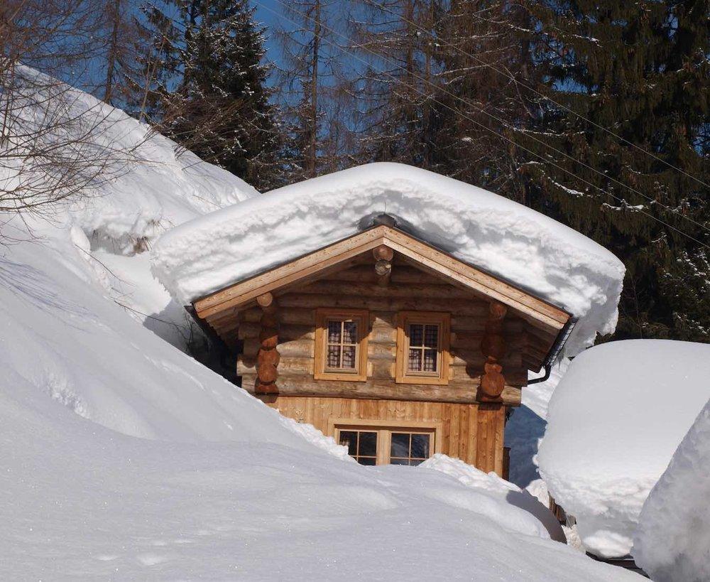 Skihütten mit Verpflegung mit Whirlpools