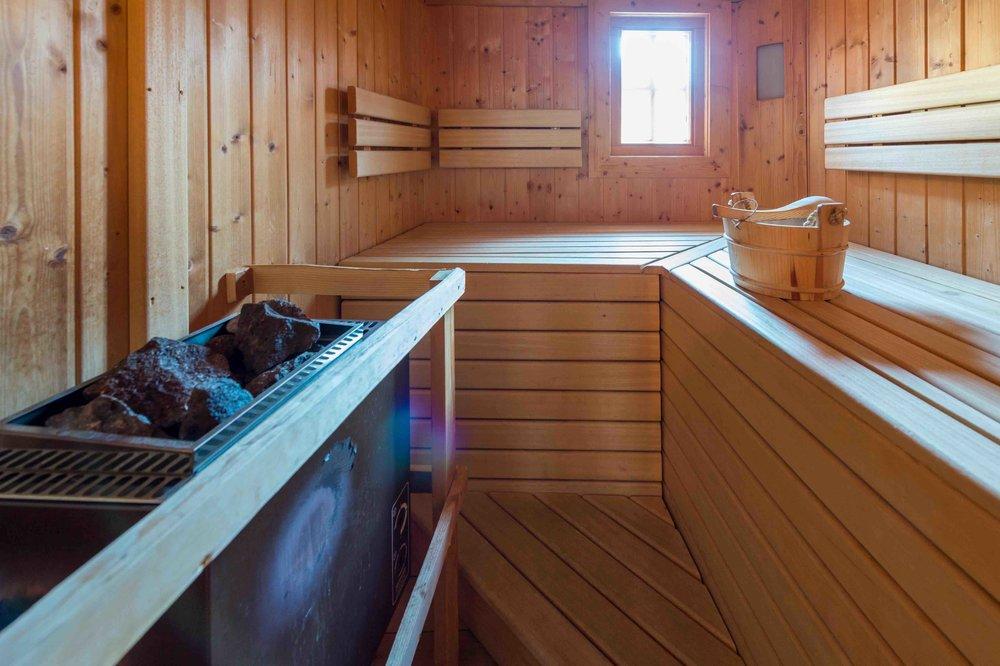 Eigene Sauna im Chalet