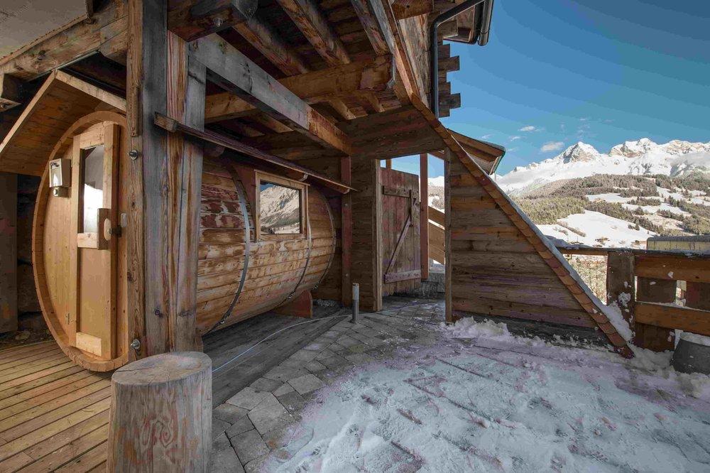 Eigene Fass Sauna