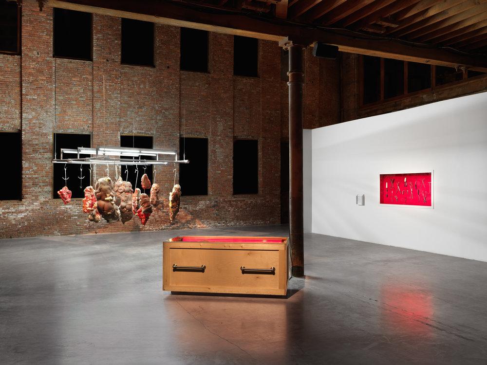 White Man On A Pedestal  Exhibition Installation  Pioneerworks 2017