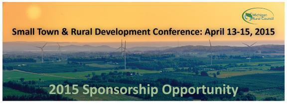 Small Town & Rural Development Conference 2015
