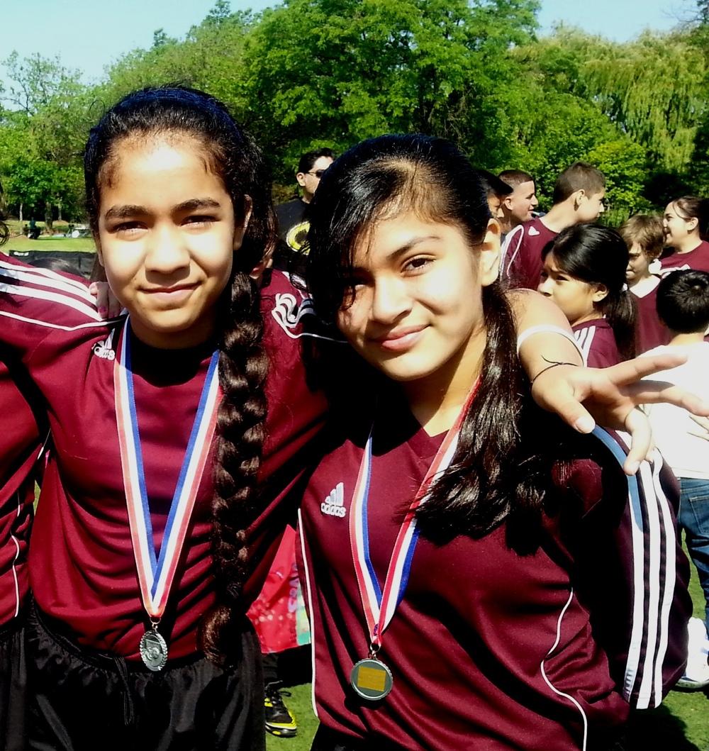 Melany and Yaritzy