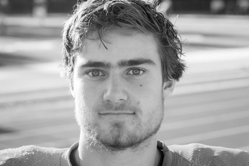 #12 Tristan Hofmann - LB / QB / PSophmore