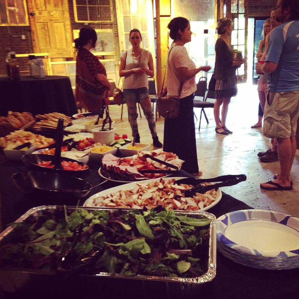Food at Art Night JAC.jpg