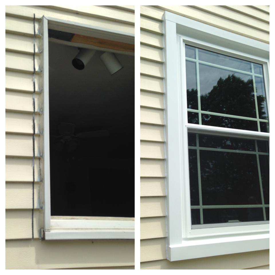 Before & After: Custom exterior capping