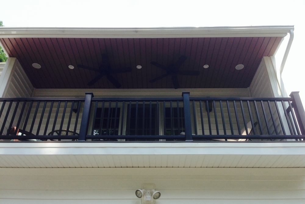 Verigated Vinyl Soffit