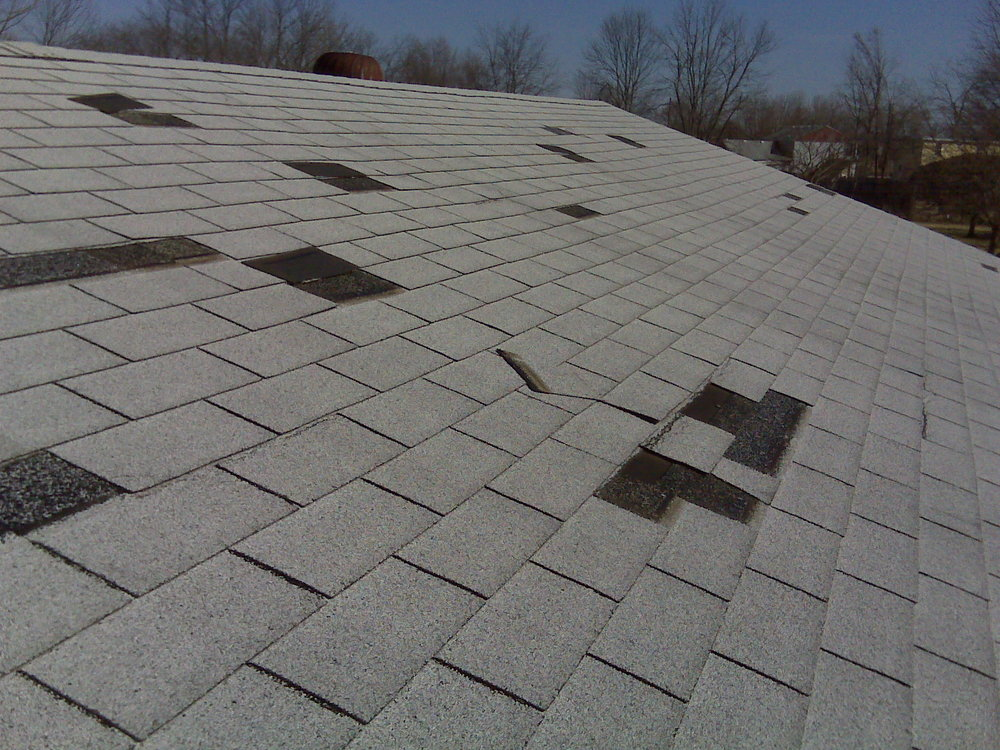 WIND DAMAGE - ROOFING