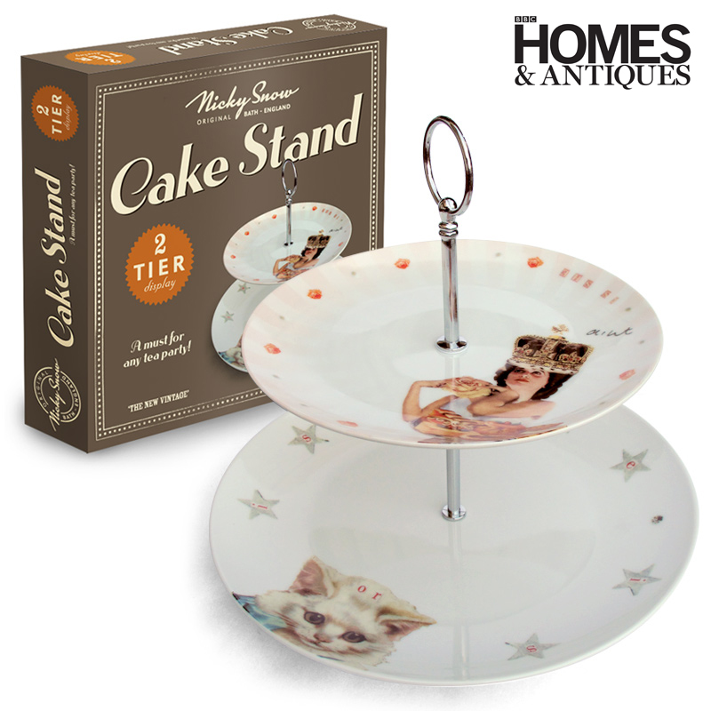 IS SHE IS CAKE STAND