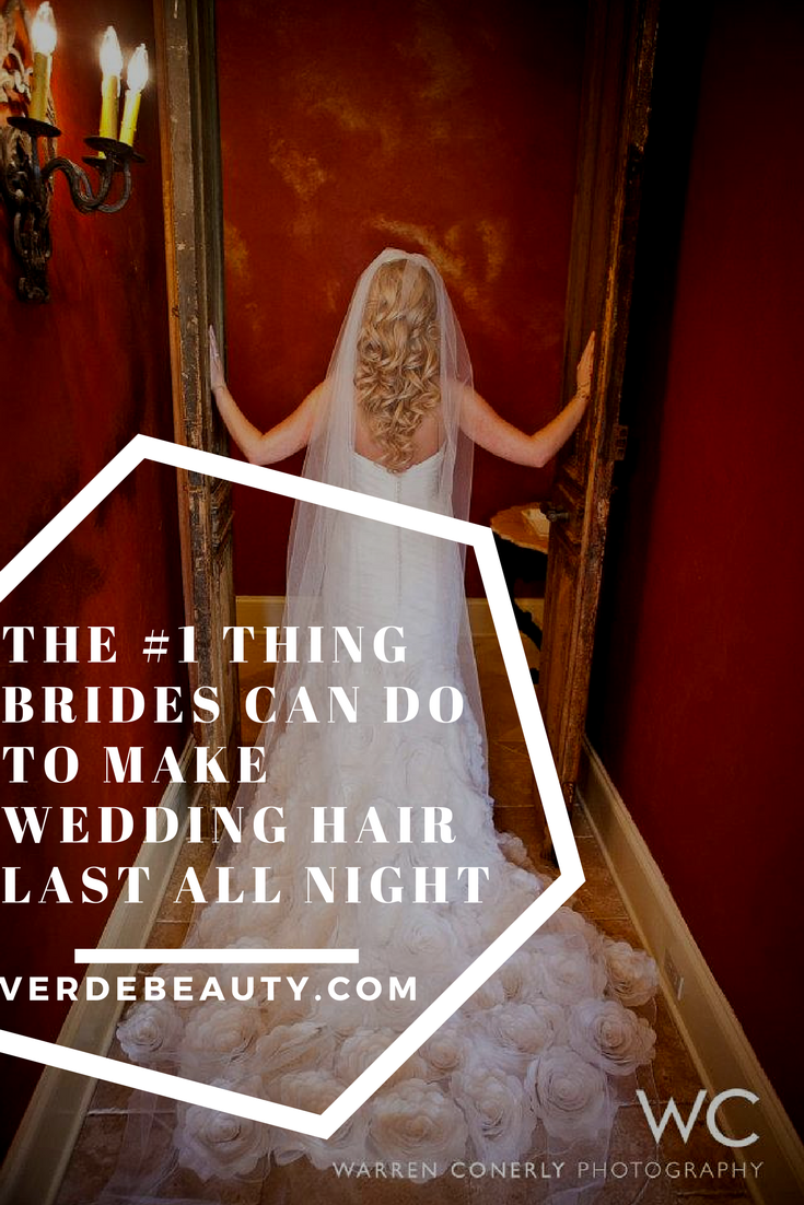 how to make your wedding hair last