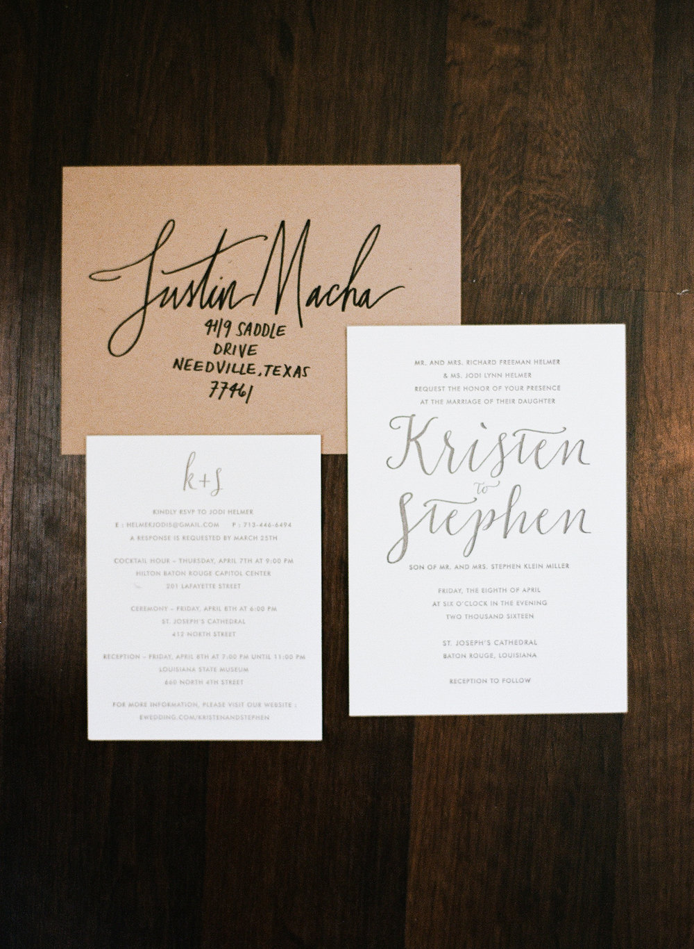 Wedding Wednesday | Kristen H. | A Baton Rouge Wedding — Verde ...