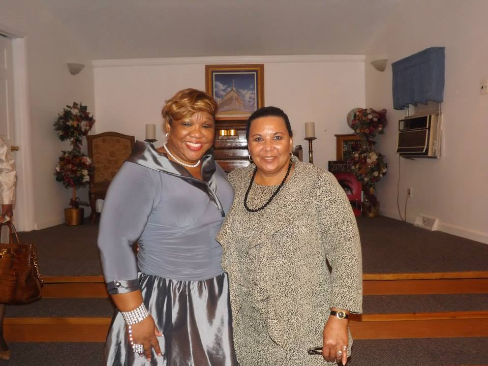 Pastor Robbin Hargrove and Pastor Peaches at The Embassy.