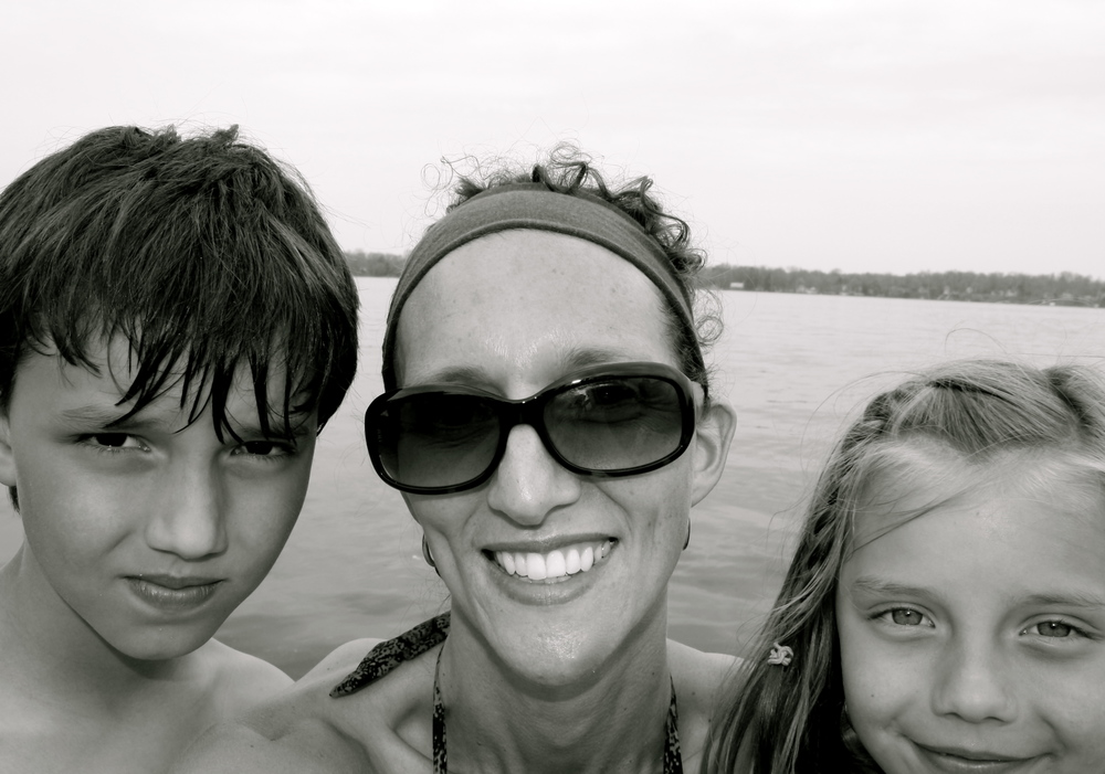 A throwback picture of Henry, Liza, and me from a few summers ago. Oh,my heart...their sweet, sweet faces.