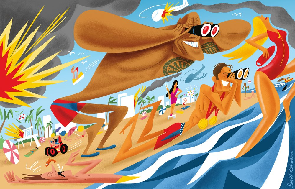 - Illustration by Bendik Kaltenborn