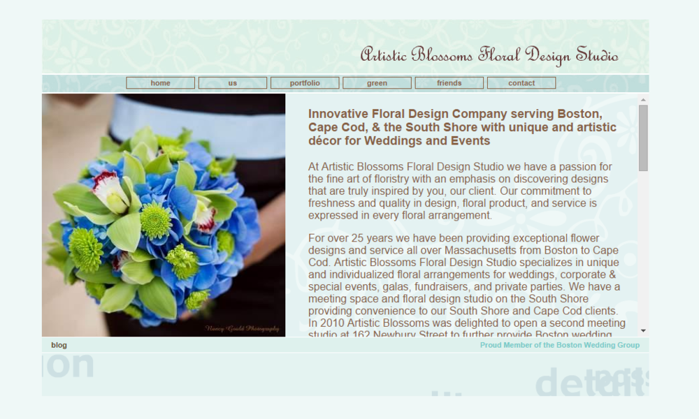 Artistic Blossom's Old Website