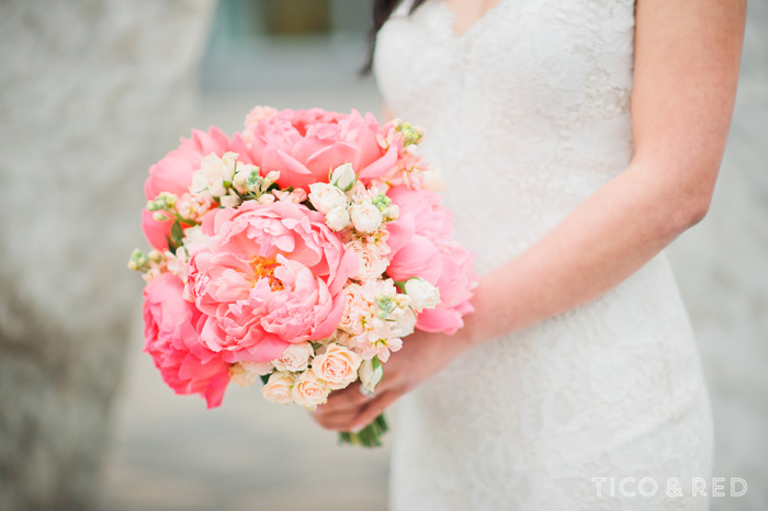Sophisticated Creme + Coral Wedding at Row 34 Tico & Red Photography
