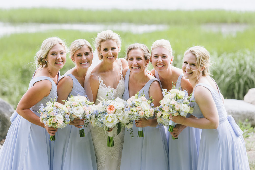 Blush & Blue Wedding at Boston Harbor Hotel  Molly Anne Photography
