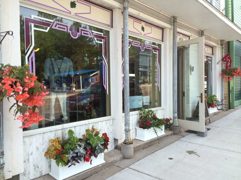 Our new shop at 104 Rittenhouse Avenue in Bayfield!